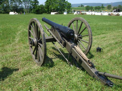 Custom Made Civil War Cannon Carriage By Robinsons Custom