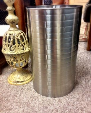 Custom Made Stainless Steel Trash Can