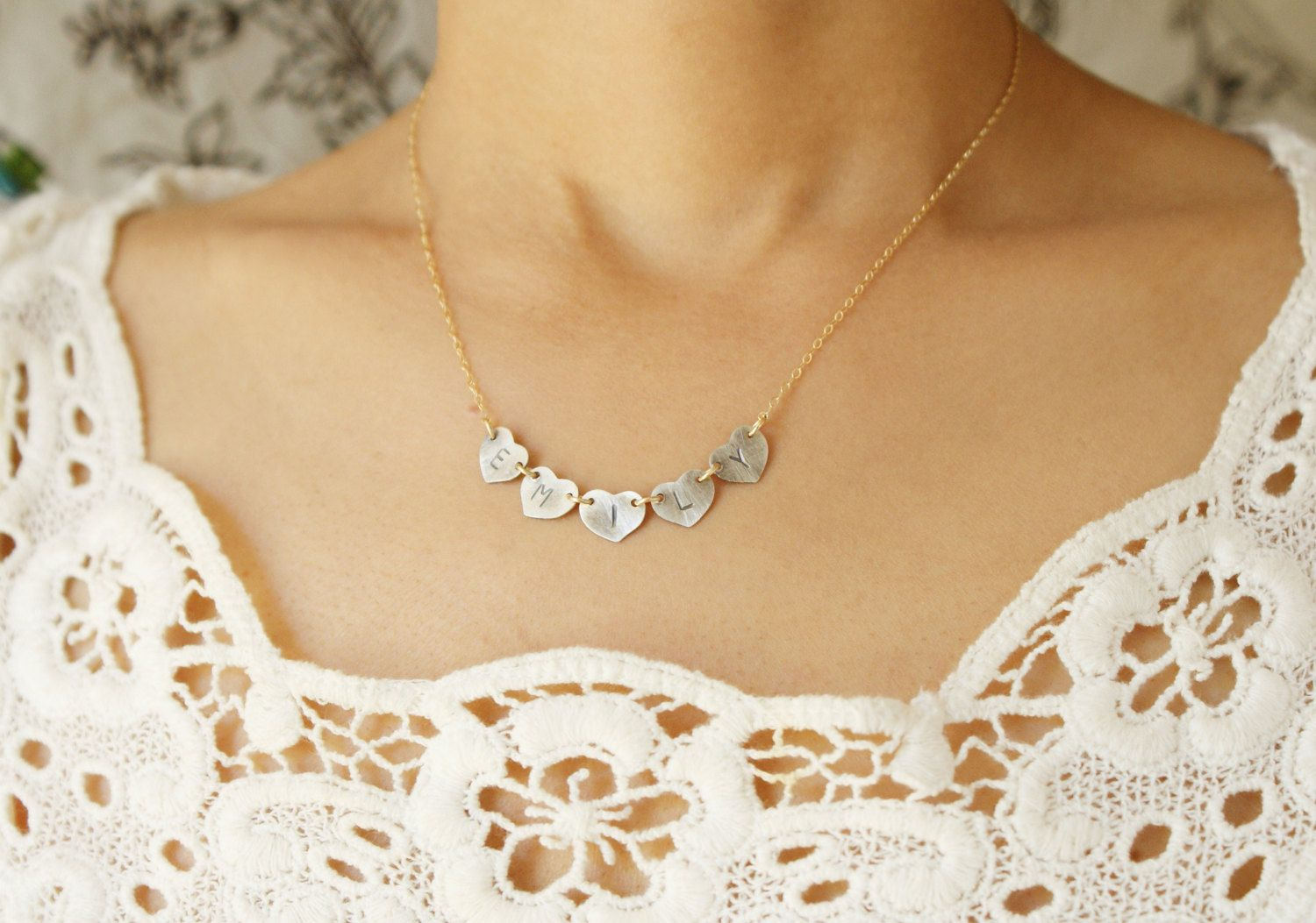 date store necklace