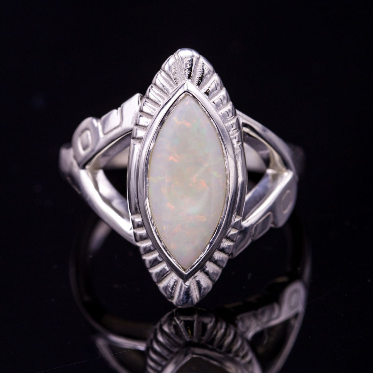 New Opal Engagement Rings | CustomMade.com XP83