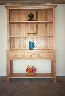 Custom Made Open Bottom Welch Hutch