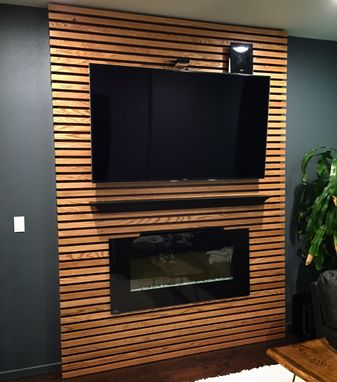 Custom Made Tv Accent Wall