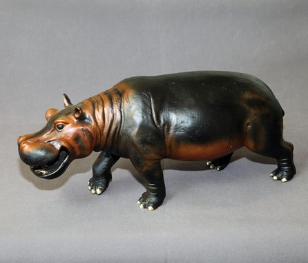 Custom Made Bronze Hippopotamus