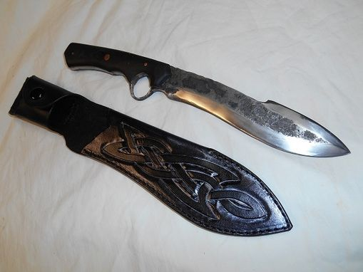 Custom Made Large Celtic Knife Sheath