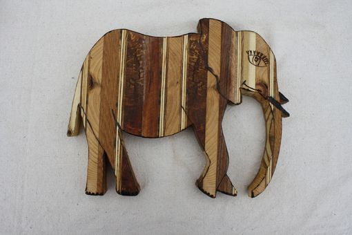 Custom Made Reclaimed Wood Animals