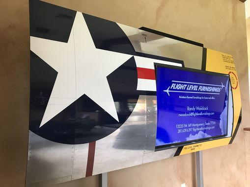 Custom Made F-86 Display