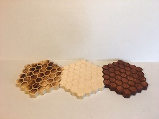 Custom Made Honeycomb Trivet