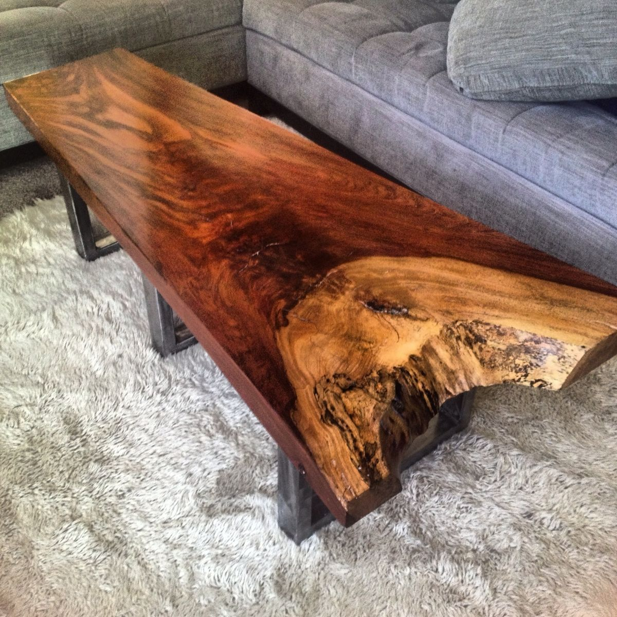 custom exotic jatoba coffee tablethe timber library