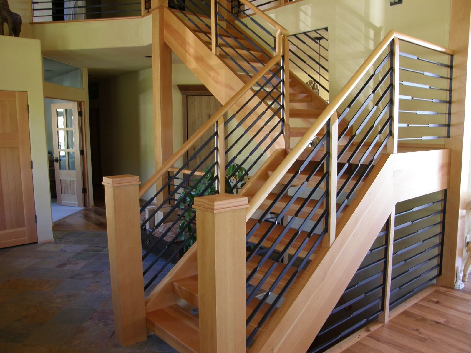 Hand Crafted Schofield Handrail By North Shore Iron Works