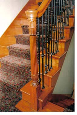 Custom Made Cherry Stairway