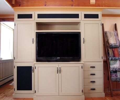 Custom Made Custom Entertainment Cabinet