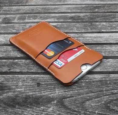 Custom Made Garny - №24 - Iphone 6 Leather Case - Whiskey Color
