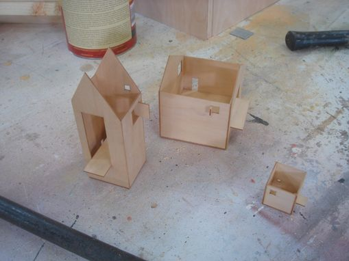 Custom Made Storefront Plywood Props