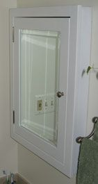 Custom Made Recessed Medicine Cabinets