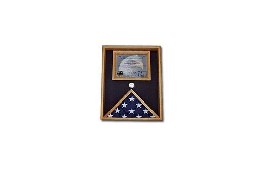 Custom Made Military Certificate Case, Military Flag And Document Case