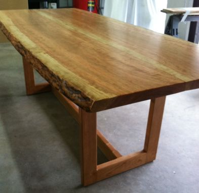 Custom Made (Sold) Live Edge Cherry Dinning Table