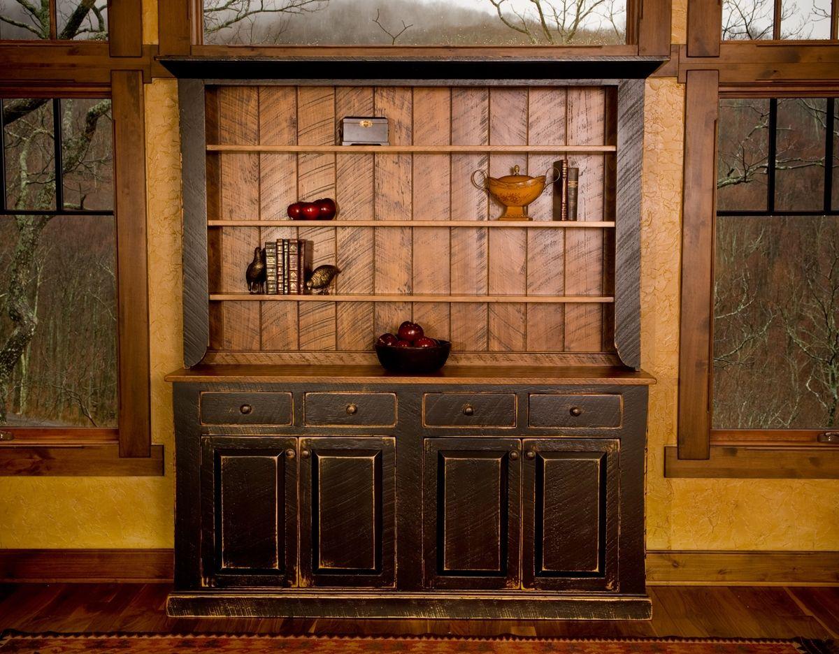 Custom Made Pine Hutch By Carolina Farm Table Custommade Com