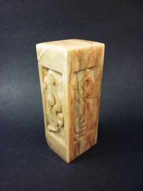 Custom Made Carved Alabaster - Couple's Dancing