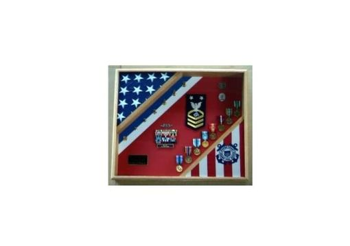 Custom Made Coast Guard Gifts, Uscg Shadow Box