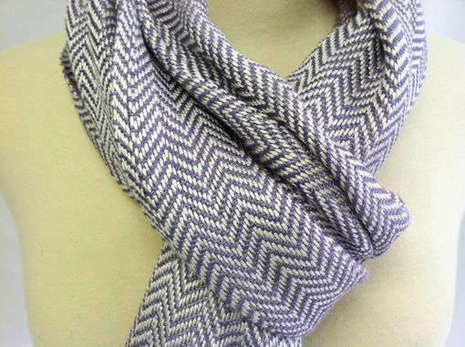 Custom Made Wide Woven Scarf Bamboo