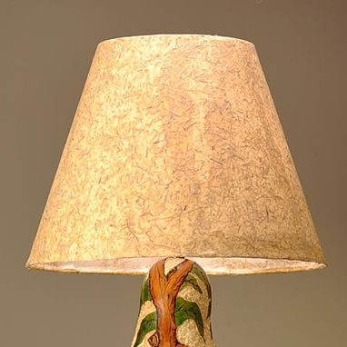 Custom Made Gourd Lamp Arbutus Tree Design