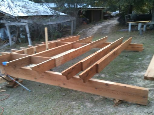 Custom Made Pre-Fabrication Of Pergola