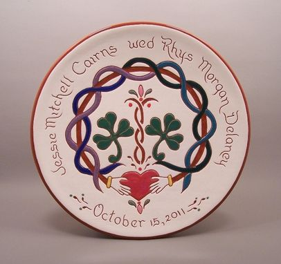 Custom Made #18-Personalized Irish Wedding Plate