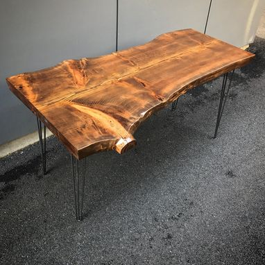 Custom Made Live Edge Cedar Desk