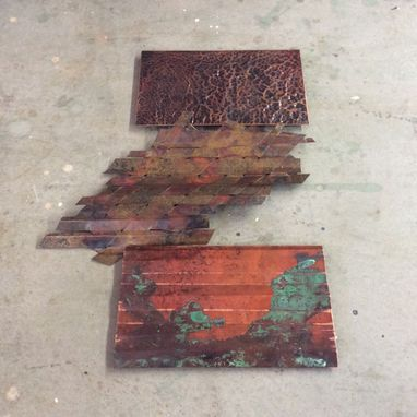 Custom Made Copper Wall Art