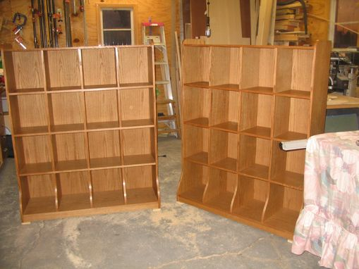 Custom Made Record/Media Storage Cabinets
