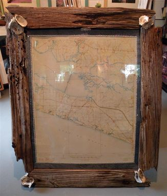 Custom Made Driftwood Picture Frames