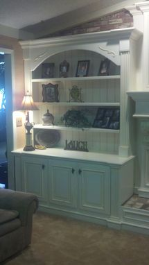 Custom Made Fireplace Mantle/Bookcase/Entertainment Center