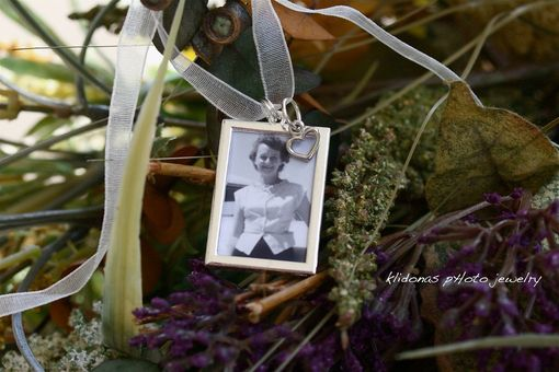 Custom Made Wedding Bouquet Charm / Bridesmaid Gift / Honor Someone Special