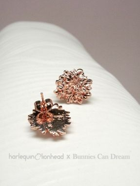 Custom Made Whirls Collection - No. 3 Earrings - Plated In 14k Gold, Rose Gold Or White Gold