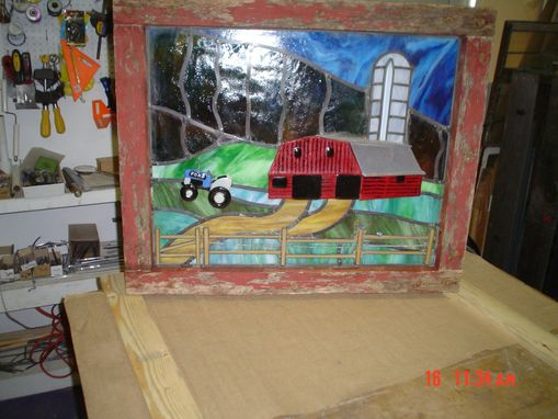 Custom Made Red Barn