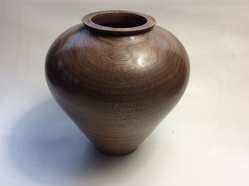 Custom Made Woodturned Walnut Hollow Form