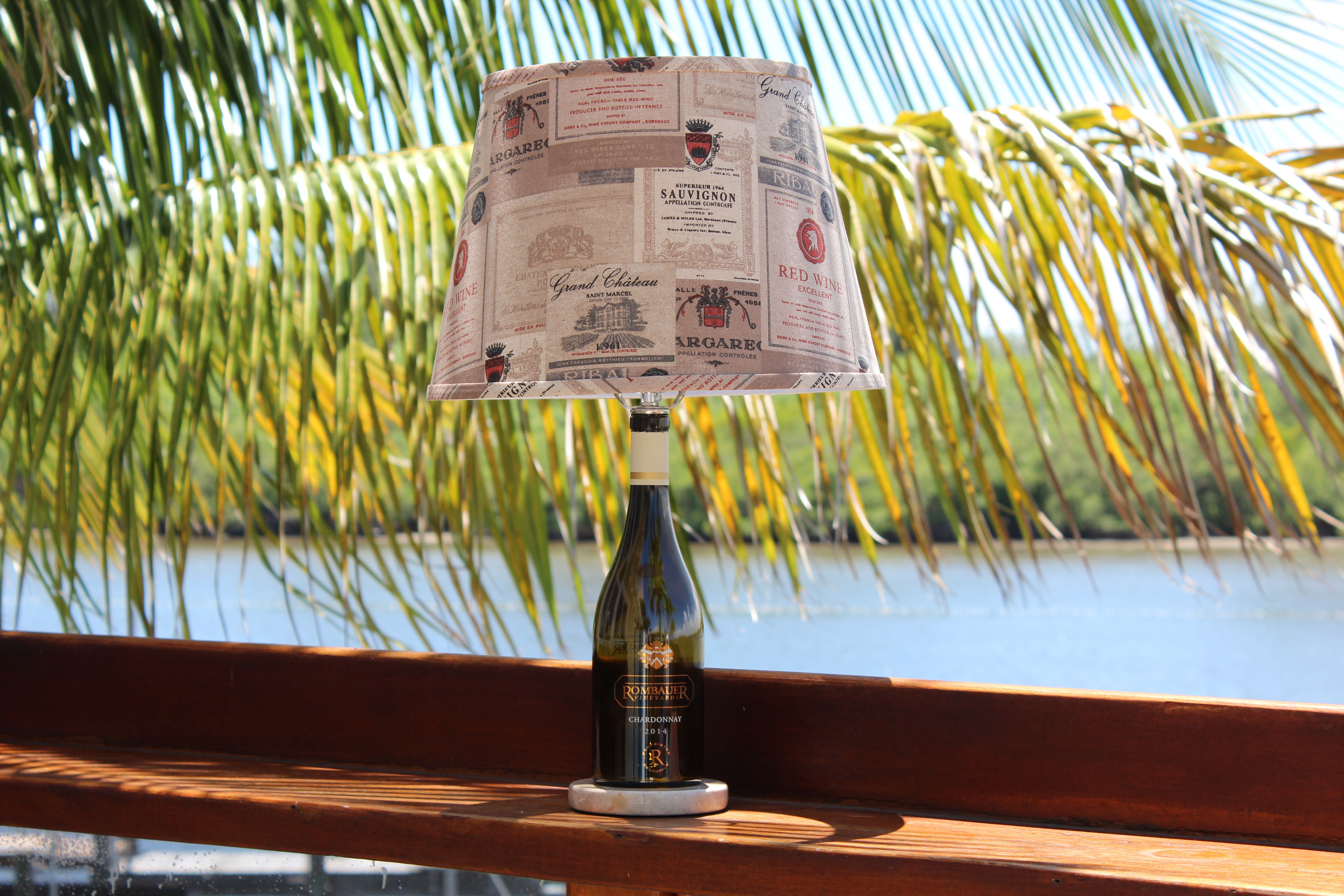 Buy A Custom Wine Bottle Table Lamp Made To Order From Wine Lamp