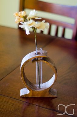 Custom Made Curvy Test Tube Vase