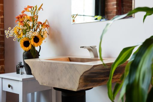 Custom Made Slab Sink