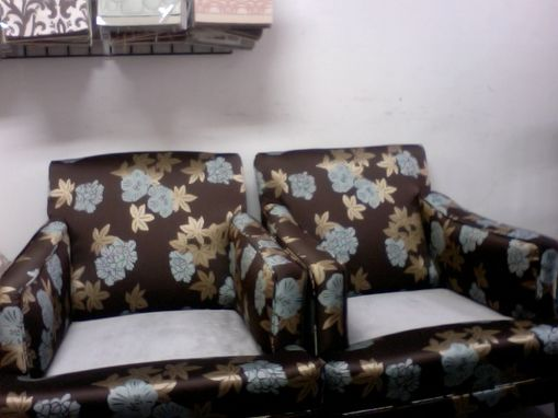 Custom Made Re-Made Traditional Armchair