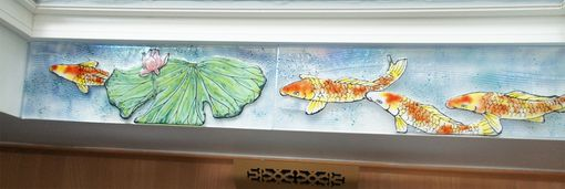 Custom Made Window Sill Artwork