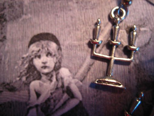 Custom Made Sale Les Miserables Inspired Candlestick Earrings, Ready To Ship