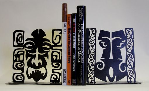 Custom Made Tiki Book Ends