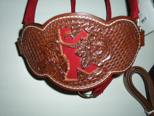 Custom Made Leather Bronc Halter