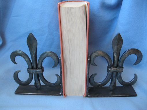 Custom Made Fleurs-De-Lis Bookend