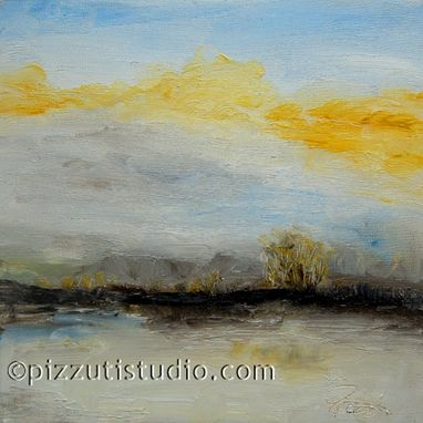 Custom Made Large Abstract Landscape