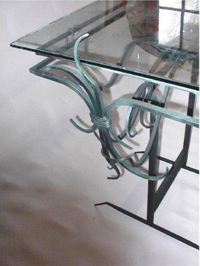 Custom Made Blacksmith Tables