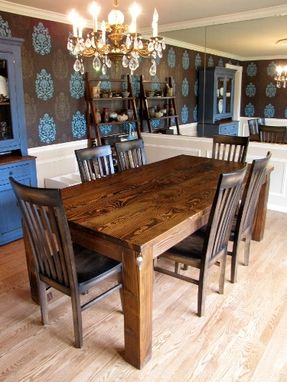Custom Made Over Sized Farmhouse Style Tables