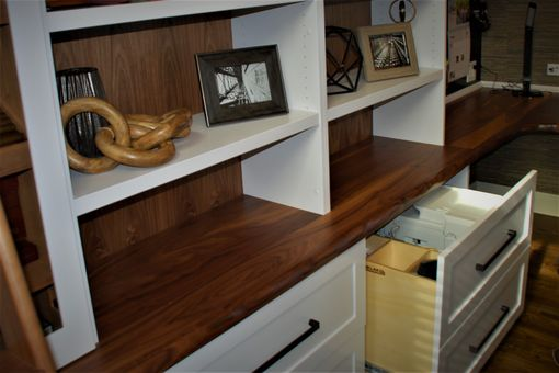 Custom Made Office Built-In Cabinets