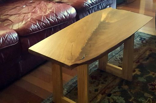 Custom Made Walnut & Hickory Accent/Coffee Table